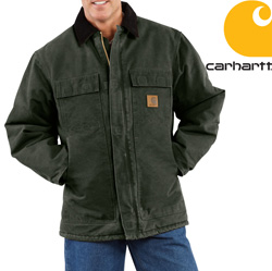 Carhartt Sandstone Arctic Coat - Moss&nbsp;&nbsp;Model#&nbsp;C26