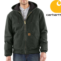 Carhartt Duck Active Jacket - Moss&nbsp;&nbsp;Model#&nbsp;J130