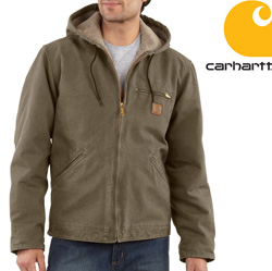 Carhartt® Sherpa Lined Sierra Jacket - Marsh  Model# J141