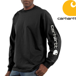 Carhartt� Long Sleeve Graphic Shirt - Black  Model# K231