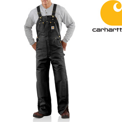 Carhartt� Quilt Lined Duck Bib Overall&nbsp;&nbsp;Model#&nbsp;R02