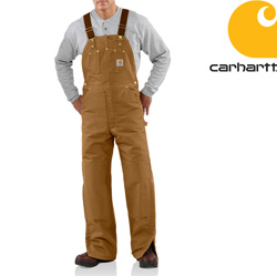 Carhartt Quilt Lined Duck Bib Overall&nbsp;&nbsp;Model#&nbsp;R02