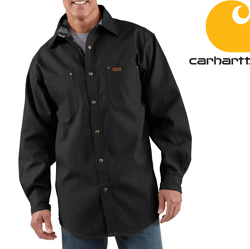 Carhartt Canvas Shirt Jacket&nbsp;&nbsp;Model#&nbsp;S296