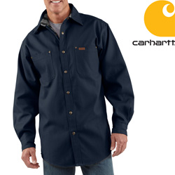 Carhartt� Canvas Shirt Jacket  Model# S296