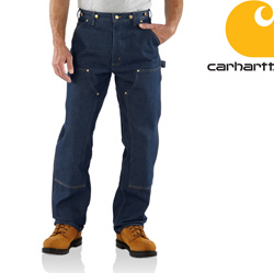 Carhartt Denim Logger Dungaree&nbsp;&nbsp;Model#&nbsp;B07     