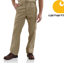 Carhartt� Twill Work Pant  Model# B290