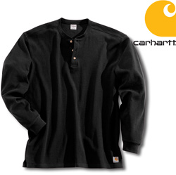 Carhartt� Textured Knit Henley  Model# K200