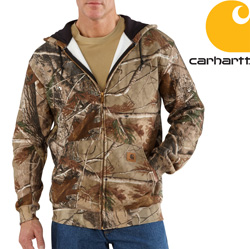 Carhartt WorkCamo AP Hooded Sweatshirt&nbsp;&nbsp;Model#&nbsp;K289    