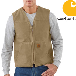Carhartt Sherpa Lined Vest&nbsp;&nbsp;Model#&nbsp;V26     