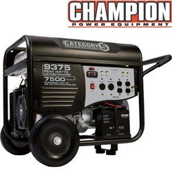 Champion 7500/9375 Watt Generator&nbsp;&nbsp;Model#&nbsp;41535