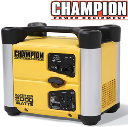 Champion® 1600/2000 Watt Inverter  Model# 73531i