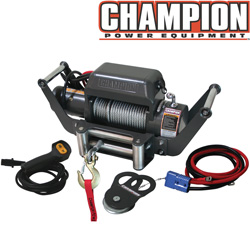 Champion 10,000 lb Winch&nbsp;&nbsp;Model#&nbsp;11006