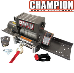 Champion 8000 lb Winch&nbsp;&nbsp;Model#&nbsp;10021