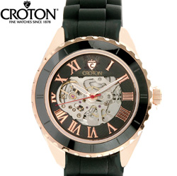 Croton® Imperial Skeleton Watch  Model# CI331061RGBS