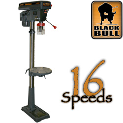 16 Speed Drill Press&nbsp;&nbsp;Model#&nbsp;DP16UL