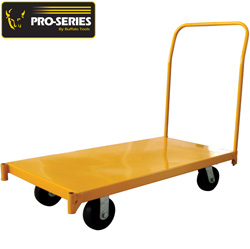 4 Foot Heavy Duty Steel Platform Cart  Model# HDSPCM