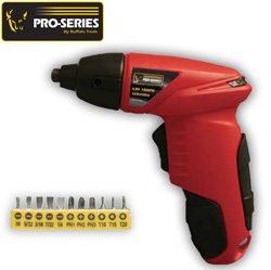 4.8 Volt Cordless Screwdriver&nbsp;&nbsp;Model#&nbsp;PS07259