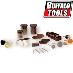 105 Piece Rotary Tool Accessory Kit&nbsp;&nbsp;Model#&nbsp;RTACCY
