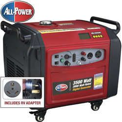 3500W Digital Generator with Push Electric Start  Model# APG-3105