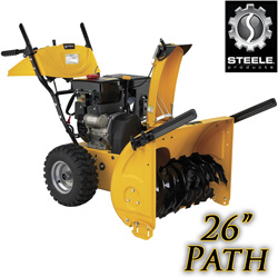 9HP 26 Inch Two Stage Snow Blower&nbsp;&nbsp;Model#&nbsp;SP-SB2621-9