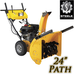 7HP 24 Inch Two Stage Snow Blower&nbsp;&nbsp;Model#&nbsp;SP-SB2421