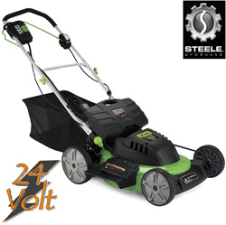 20 Inch 24V Self Propelled Cordless Mower  Model# SP-PM207SDC