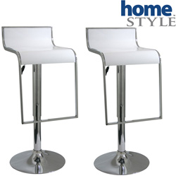 Bar Stool Set - White  Model# BS1083WSET