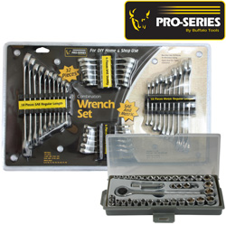 72 Piece Wrench & Socket Set  Model# CK72CWSS