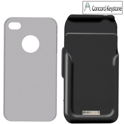 BatteryPack iPhone Case&nbsp;&nbsp;Model#&nbsp;H4-BLK-001