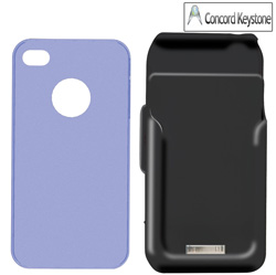 BatteryPack iPhone Case  Model# H4-BLU-001