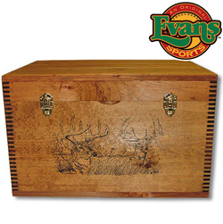 Deer Print Ammo Trunk&nbsp;&nbsp;Model#&nbsp;TC41-66