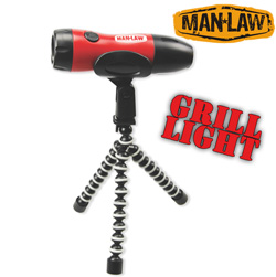 Twist Flashlight with Tripod Stand  Model# MANF378BBQ
