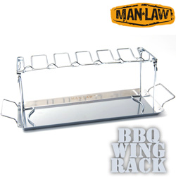 BBQ Wing Rack  Model# MANV10