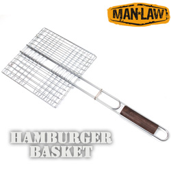 BBQ Hamburger Basket  Model# MANV1