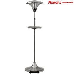 1500W Free Standing Outdoor Electric Patio Heater&nbsp;&nbsp;Model#&nbsp;NPO-15L20WT