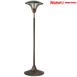 1500W Free Standing Outdoor Electric Patio Heater&nbsp;&nbsp;Model#&nbsp;NPO-15L00 RB