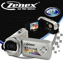 8MP Digital Video Camera  Model# ZN-DV5280