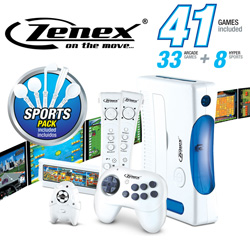 41-in-1 Wireless Video Game System  Model# ZN-GM5489