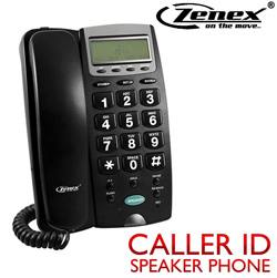 Hands Free Telephone with Caller ID  Model# ZN-TP5595