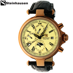 Steinhausen® Automatic Calendar Watch  Model# SW381RG