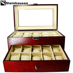 Steinhausen� Jewelry/Watch Display Box  Model# TM338E