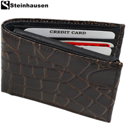 Steinhausen® Alligator Wallet  Model# TN702AGB