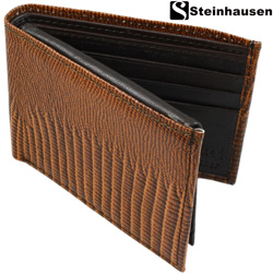Steinhausen® Lizard Wallet  Model# TN702LZB
