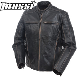 Mossi� Drifters Men's Premium Leather Jacket  Model# 20-150-38