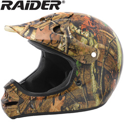 Raider� Mossy Oak MX Helmet  Model# 24-625MO-S