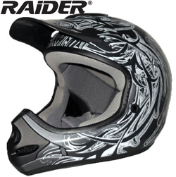 Raider Tribal MX-3 Helmet&nbsp;&nbsp;Model#&nbsp;24-281