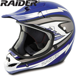 Raider� MX-3 Helmet - Blue  Model# 24-213