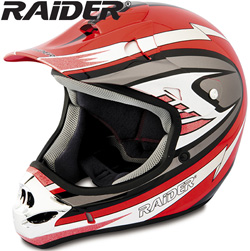 Raider� MX-3 Helmet - Red  Model# 24-243