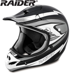 Raider MX-3 Helmet - Silver&nbsp;&nbsp;Model#&nbsp;24-273