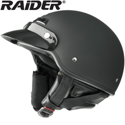 Raider� Gloss Deluxe Half Helmet  Model# 26-618-13